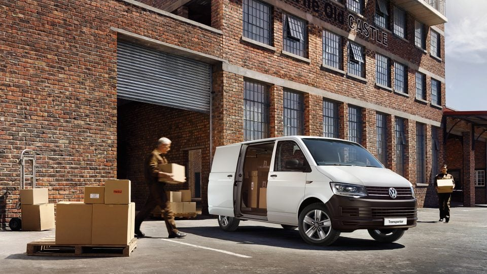 new vw transporter van