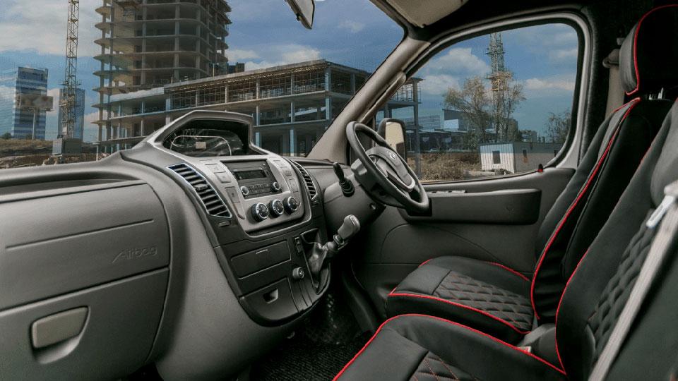 interior of van