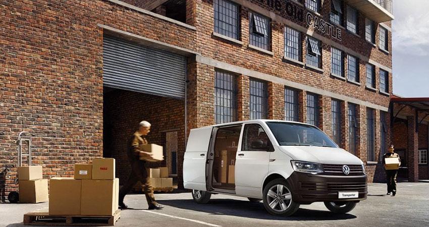 transporter van loading
