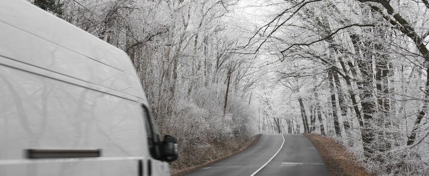 Van-in-Winter