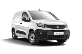 white peugeot van
