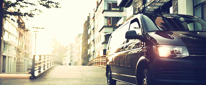 volkswagen black van