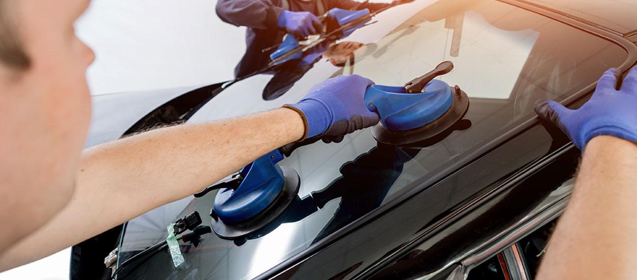 replacing van windscreen
